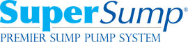 Logo for our SuperSump® Pump System, available in Reynoldsburg and other parts of Ohio